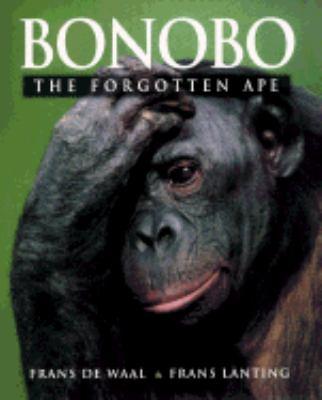 Cover of Bonobo: the forgotten ape by Frans de Waal