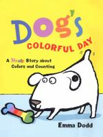 Book Cover of Dog's Colorful Day
