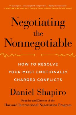 Negotiating the nonnegotiable :