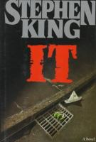 It:  A Novel book cover