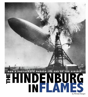 The Hindenburg in flames :