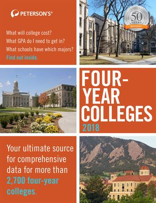 Peterson's four-year colleges 2018.