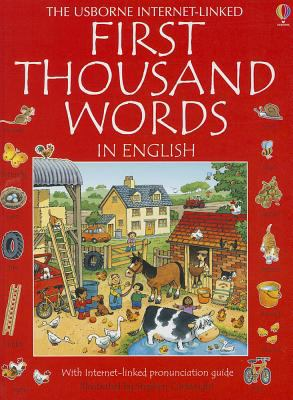 The Usborne Internet-linked first thousand words in English