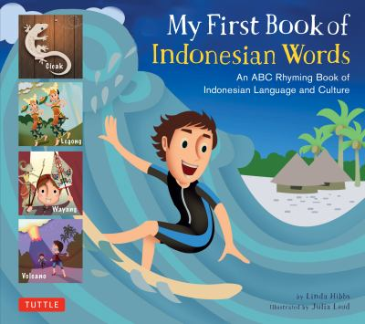 My first book of Indonesian words :