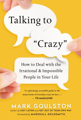 Talking to crazy :