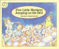 Five Little Monkeys Jumping on the Bed book cover