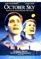 October Sky movie cover