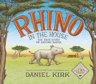 Rhino in the house :
