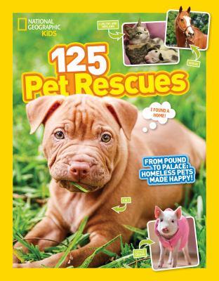 125 pet rescues :
