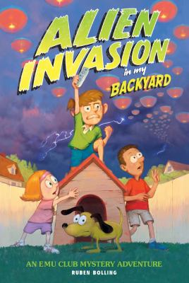 Alien invasion in my backyard :
