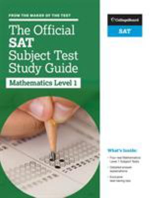 The official SAT subject test study guide. Mathematics 1