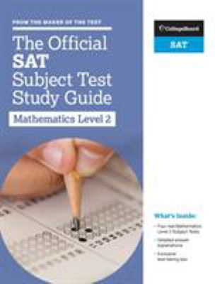 The official SAT subject test study guide. Mathematics 2