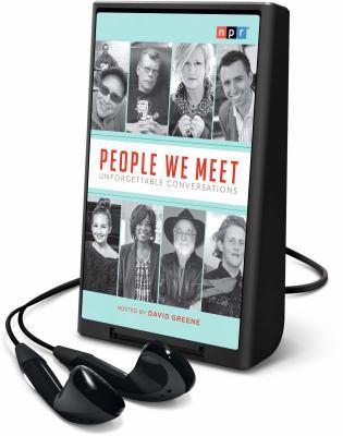 People we meet :