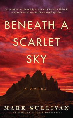 Beneath a scarlet sky :