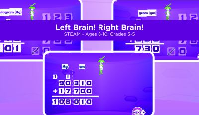Left brain! Right brain!