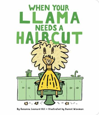 When your llama needs a haircut