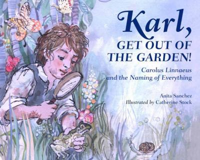 Karl, get out of the garden! :