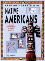 Cover image of Native American crafts book