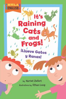 It's raining cats and frogs! =