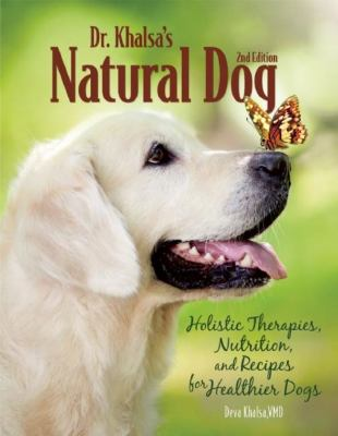 Dr. Khalsa's natural dog :