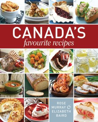 Canada's Favourite Recipes book cover