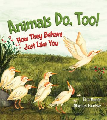 Animals, do too! :