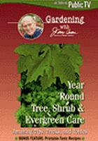 Cover of Year Round Tree, Shrub and Evergreen Care DVD