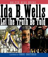Ida B. Wells: let the truth be told book cover