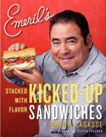 Emeril's kicked-up sandwiches book cover