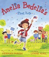 Amelia Bedelia's first vote book cover