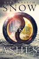 Snow Like Ashes book cover