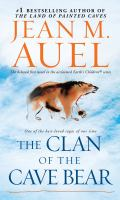 The Clan of the Cave Bear book cover
