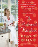 The relaxed kitchen book cover