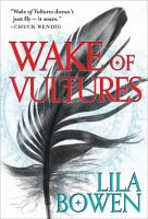 Wake of Vultures book cover