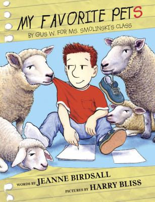 My favorite pets by Gus W. for Ms. Smolinski's class