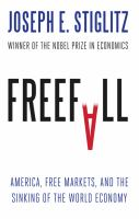 Freefall  by Joseph E. Stiglitz