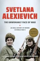 The Unwomanly Face of War book cover