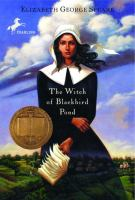 The Witch of Blackbird Pond book cover
