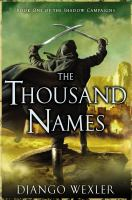 The Thousand Names book cover