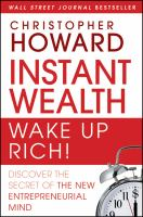 Instant Wealth - Wake up Rich!