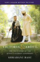 Victoria and Abdul book cover