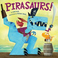 Pirasaurs! book cover