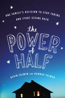 Book Cover Image: The Power of Half