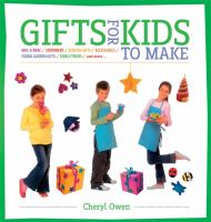 Cover of the book Gifts for Kids to Make