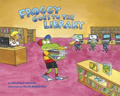 Froggy goes to the library