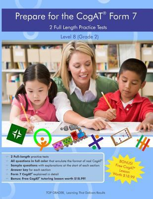 Two full length practice tests for the CogAT – Form 7 :