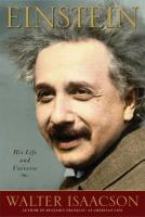 Einstein: His Life and Universe book cover