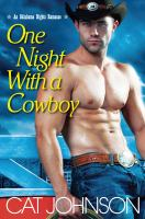 One Night with a Cowboy book cover
