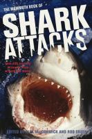 The Mammoth Book of Shark Attacks book cover