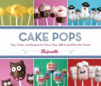 Book cover of Cake Pops